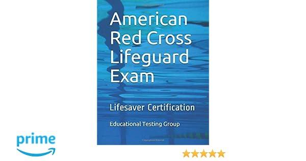 Lifesaver Certification American Red Cross Lifeguard Exam ...