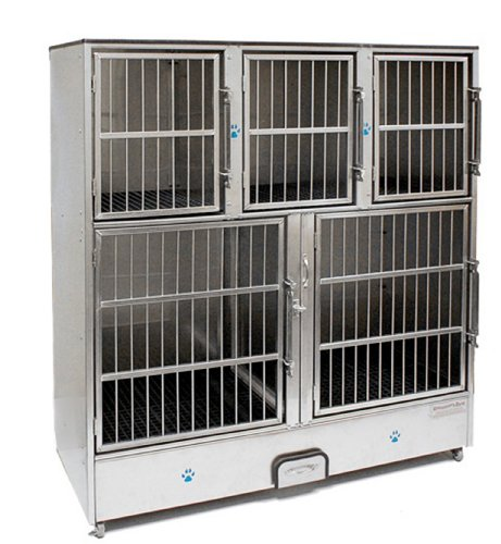 Groomer's Best 5-Unit Cage - Unit Cage Bank