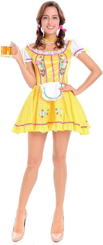 Z&S Disfraz de Halloween Adulto para Mujer Oktoberfest Disfraz de ...