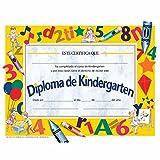 Spanish Kindergarten Diploma - Glossy Paper - Quantity 150