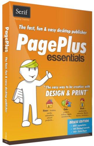 Serif PagePlus Essentials (Flyer Home Essentials)