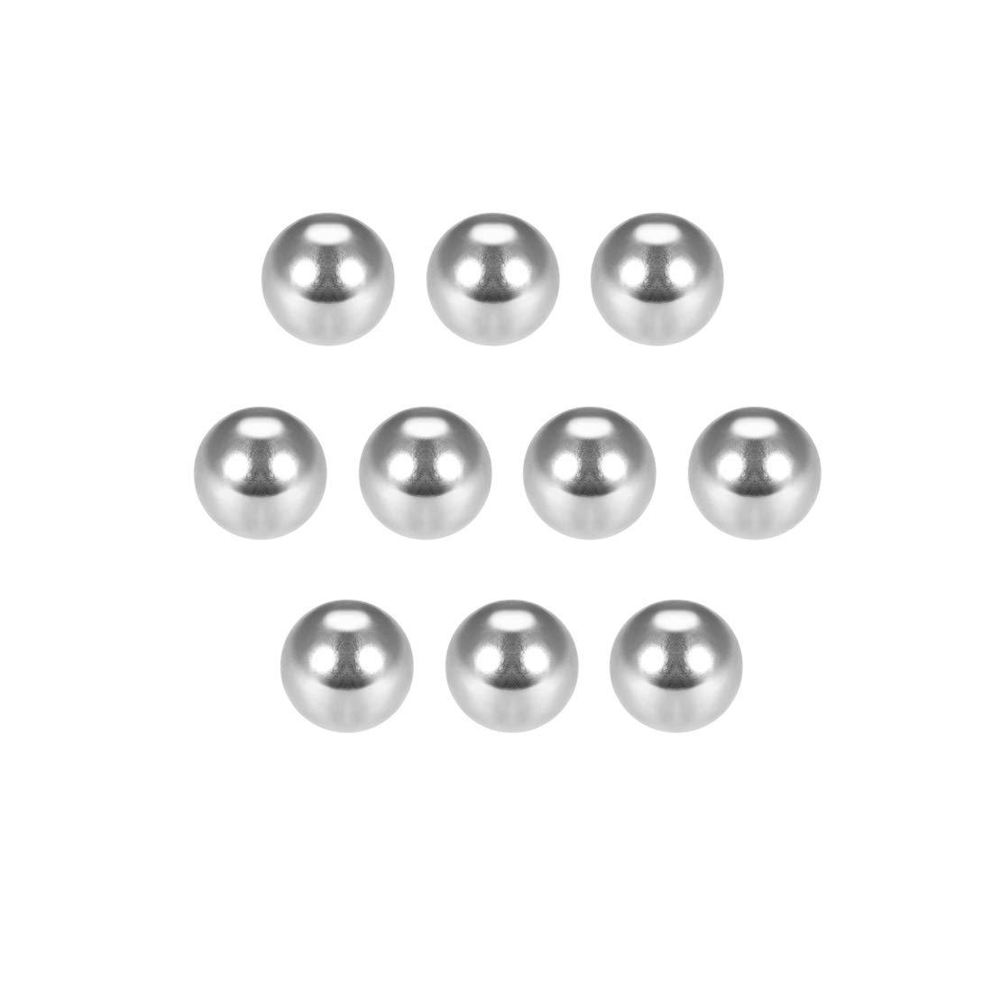 Bolas de rodamiento de acero cromado de precisi/ón 1mm varios mm 100pcs Sourcingmap G25
