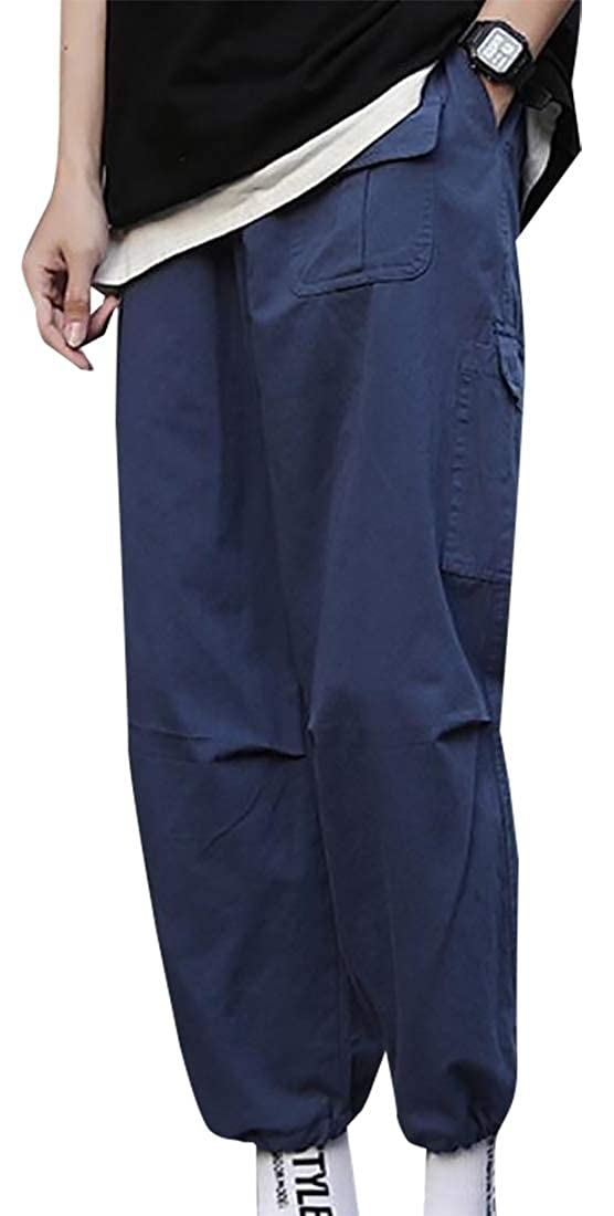 Pockets Casual Work Pant Trousers hower Men Cotton Military Cargo Pants