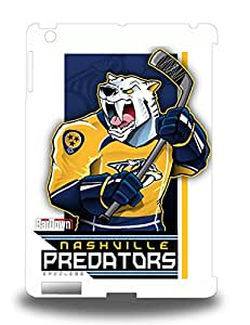 Hot Tpye NHL Nashville Predators Logo 3D PC Case Cover For Ipad Air ( Custom Picture iPhone 6, iPhone 6 PLUS, iPhone 5, iPhone 5S, iPhone 5C, iPhone 4, iPhone 4S,Galaxy S6,Galaxy S5,Galaxy S4,Galaxy S3,Note 3,iPad Mini-Mini 2,iPad Air )