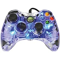 PDP Afterglow Wired Controller: Blue for Xbox 360 - Standard Edition
