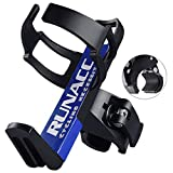 RUNACC Adjustable Bike Bicycle MTB Water Bottle Holder Rack Cage Black