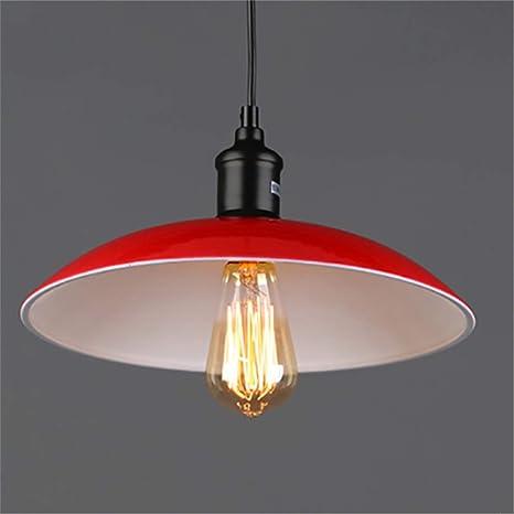 Lámpara colgante de techo,Loft viento industrial platillo ...