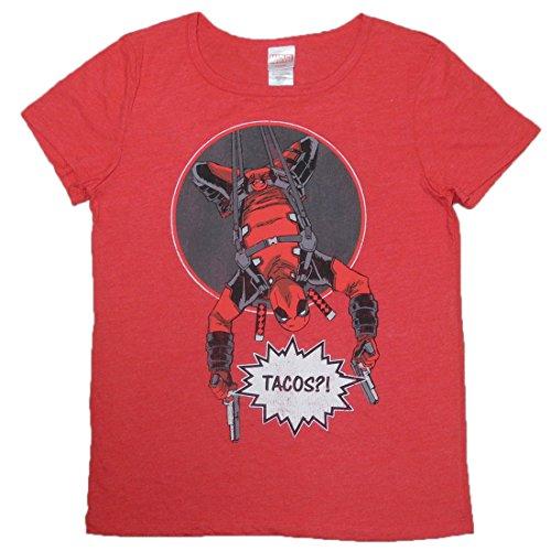 PLUS SIZE Womens MARVEL COMICS DEADPOOL Short Sleeve Summer T Shirt XXL (Plus Size Marvel)