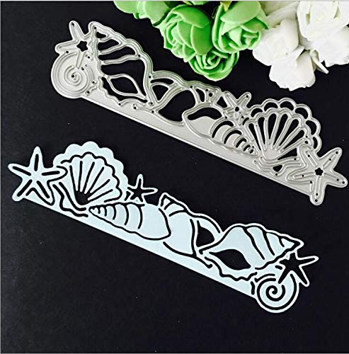 SMALL-CHIPINC - Metal cutting dies sea world fish shell borderline for Scrapbooking album invitation home decoration embossing stencils cut dies
