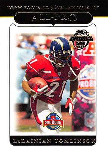 - 2005 Topps Football #337 LaDainian Tomlinson San Diego Chargers AP