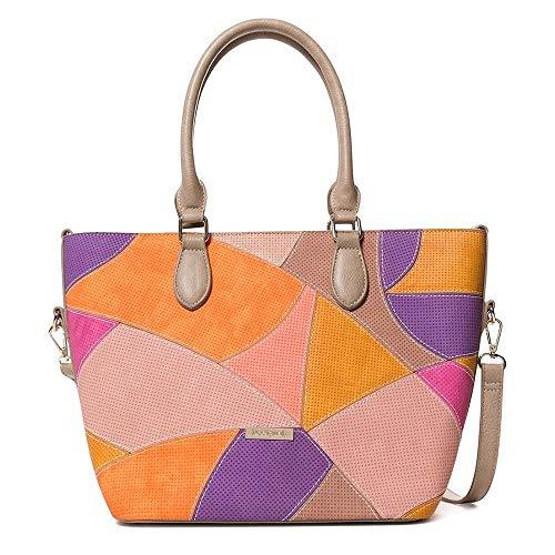 Desigual Jackie Florida Bag, Fucsia, One-Size ()
