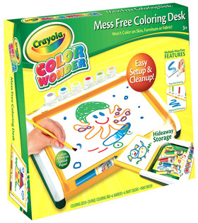 Amazon Com Crayola Color Wonder Mess Free Coloring Desk