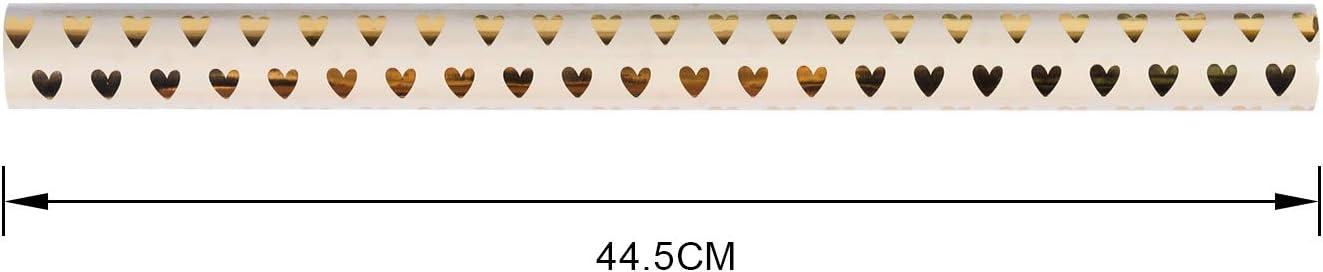 San Valentino 3 Tipi Matrimonio Festa Della Mamma Pois//Cuori 2 Tipi // Stelle RUSPEPA Foglio Di Carta Da Regalo Carta Da Regalo Design Per Compleanno 44,5 X 76 Cm Per Foglio 6 Fogli
