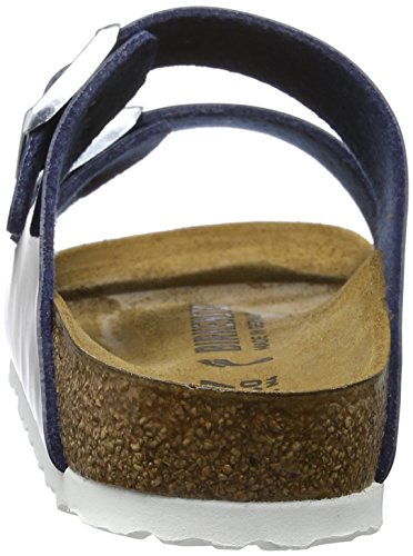 Birkenstock Arizona Birko-flor - Mules Mujer Azul (Vernis Dress Blue)