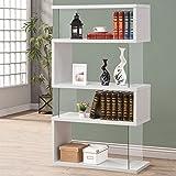 Coaster Bookshelf, White