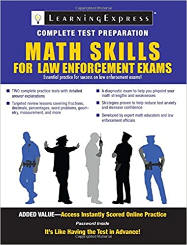 Math skills for law enforcement exams learningexpress llc editors math skills for law enforcement exams 1st edition fandeluxe Gallery