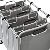 Simple Houseware 4-Bag Heavy Duty Laundry Sorter