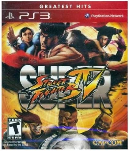 Amazon com: Super Street Fighter IV - Playstation 3: Video Games