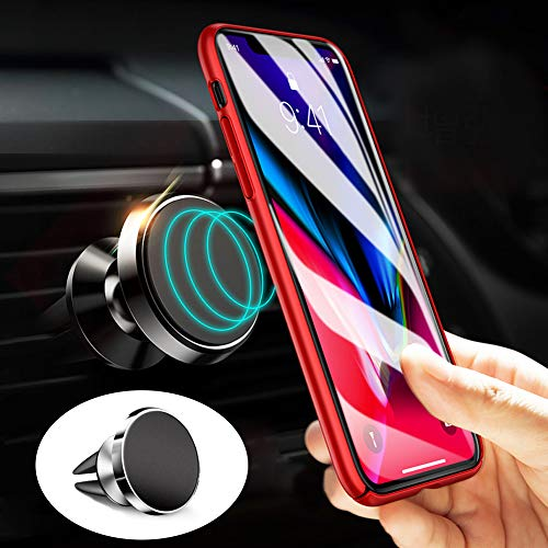Universal Mobile Phone Bracket, Magnetic Car Phone Mount Air Vent Car Mount Phone Holder Stand for Mobile Devices GPS