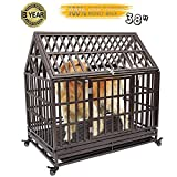 Haige Pet Your Pet Nanny 38'' Heavy Duty Dog Crate Cage Kennel Playpen