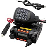 TALKCOOP KT-8900 25/20W UHF VHF Mobile radio 136-174/400-480MHz Mini Car Radio Amateur Radio+ Free Programming Cable and CD