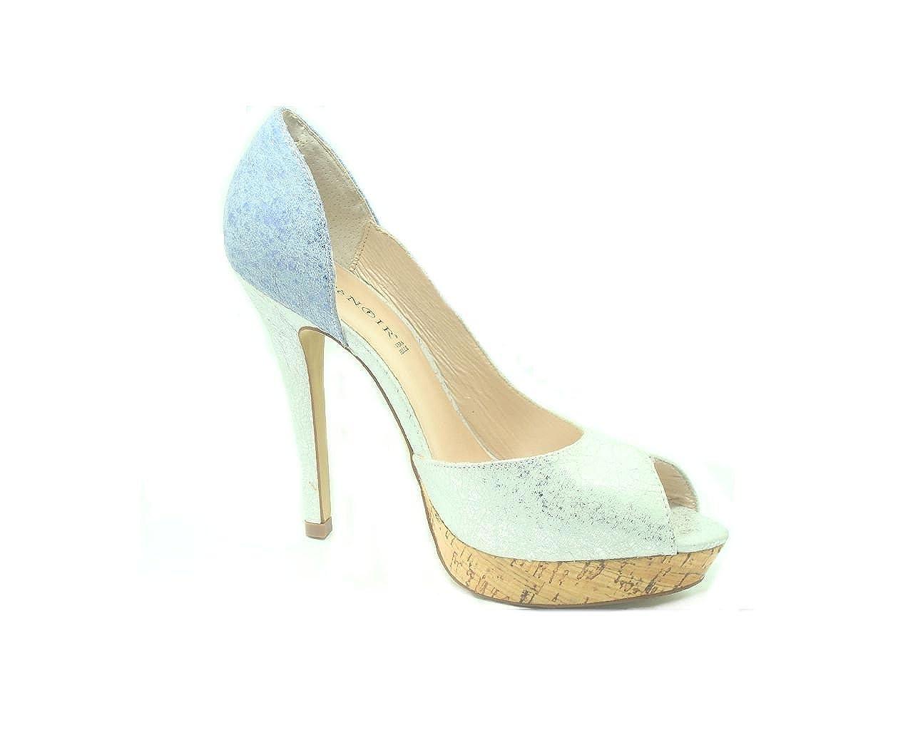 CAFegrave;NOIR - scarpa tacco SLL018 - CAFegrave;NOIR 12dc94