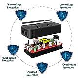 BMK 200W Car Power Inverter DC 12V to 110V AC Car