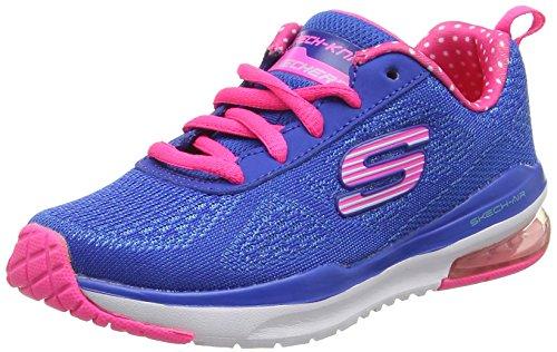 Image of Skechers Girls' Skech-Air Infinity Sneaker,Blue/Hot Pink,US 5 M