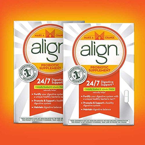 Align Daily Probiotic Supplement Capsules, 2x42