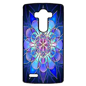 Fashion Magic Nice Floral Mandala Art Flowers Phone Case Cover for LG G4 Mandala Perfect Cover Shell