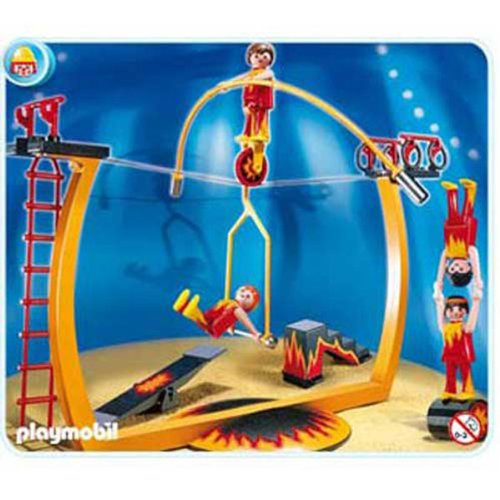 Playmobil Circus Tightrope Artists (Toy Tightrope)