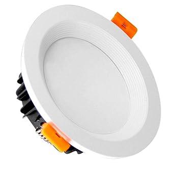 Starnearby LED empotrable lámpara de techo Downlight 3 pulgadas 70 mm agujero redondo panel luces resalte