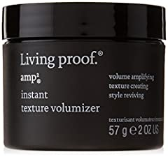 A styling cream that can be applied to dry hair for instant volume, touchable texture and flexible hold that is revivable for up to 48 hours. Powered by Living Proof's Meta-Volume Technology that features their patented Thickening Molecule (PBAE)