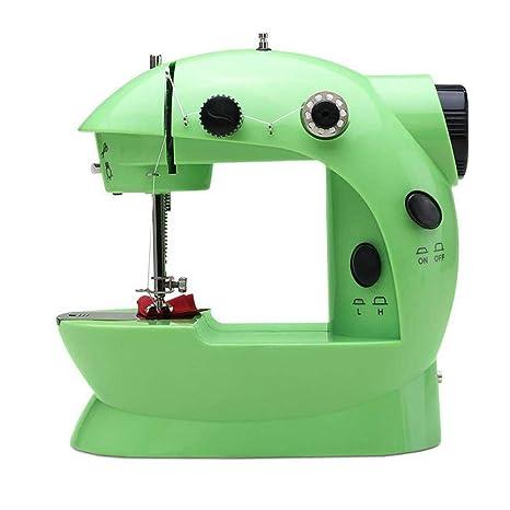 GSKTY Máquina de coser Casa multifunción pequeño escritorio máquina de coser eléctrica 20 * 10 *