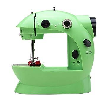 GSKTY Máquina de coser Casa multifunción pequeño escritorio máquina de coser eléctrica 20 * 10 * 19 cm: Amazon.es: Hogar