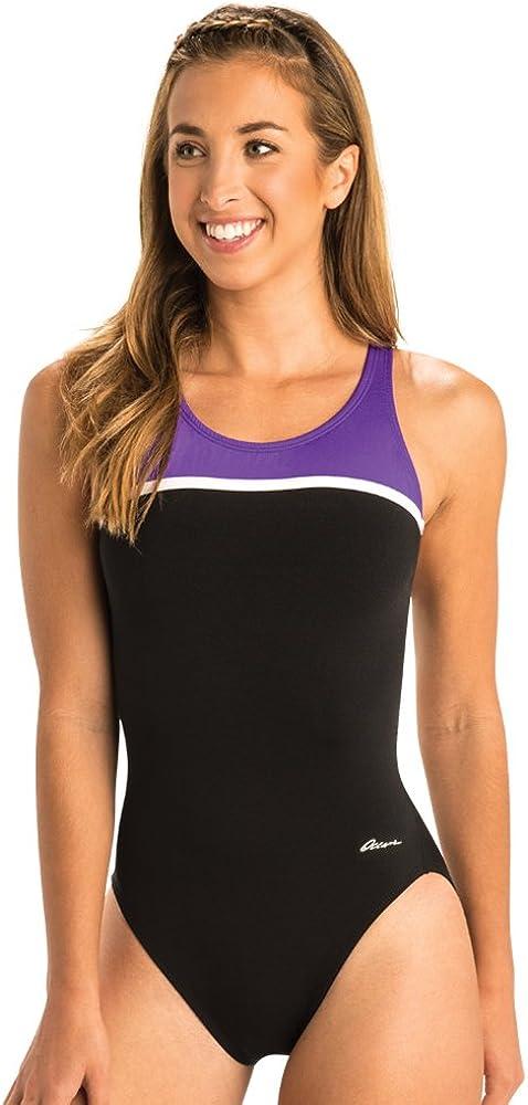 Dolfin Ocean Womens Swimsuit Panel HP Back Swimwear