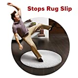 Rug Grippers 8PCS by SKINOSM, Reusable Anti Curling