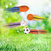 """Toddlers   Fun Flying Toys for Kids ArtCreativity 6/"""" Jet Sports Balls Soft Safe Foam Set of 12 Cool Summer Outdoor Activity Goodie Bag Fillers Sporty Birthday Party Favors for Boys Girls"""