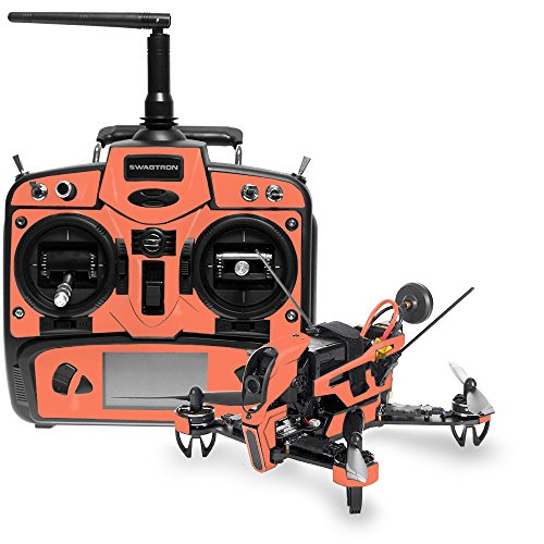 (MightySkins Skin Compatible with Swagtron SwagDrone 210-UP - Solid Salmon   Protective, Durable, and Unique Vinyl Decal wrap Cover   Easy to Apply, Remove, and Change Styles   Made in The USA )
