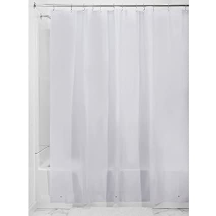 Amazon.com: InterDesign PEVA 3 Gauge Shower Curtain Liner - Mold ...
