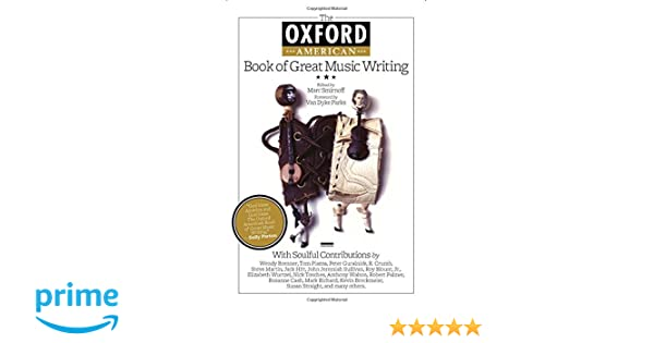 The oxford american book of great music writing marc smirnoff the oxford american book of great music writing marc smirnoff van dyke parks 9781557289506 amazon books fandeluxe Images