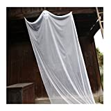 Pinji Halloween Hanging Ghost Scary Prop Skeleton Flying Ghost Decorations for Outdoor Yard Indoor Bar Party Decor White