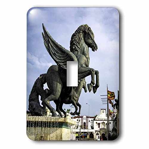 Danita Delimont - statues - Equine sculptures link Getsemani with El Centro districts, Colombia. - Light Switch Covers - single toggle switch - Outlets Centro El