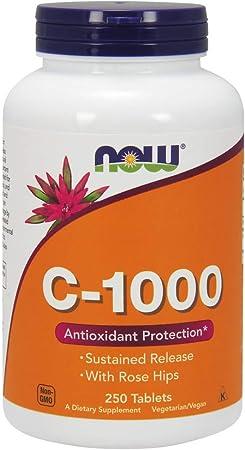 NOW Supplements Vitamin C-1,000