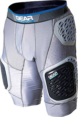 (Gear Pro-Tec Edge Pro 5-Pad Adult Football Girdle)
