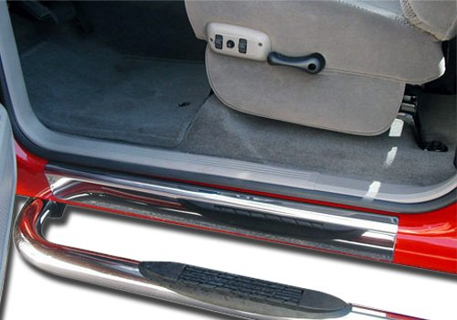Willmore GMC Sierra Polished Stainless Steel Door Sill Plates - 831345