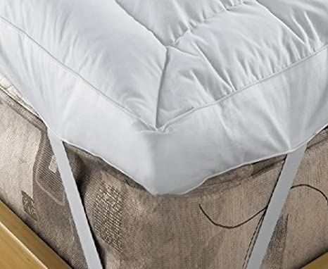 Topmatras 10 Cm.Viceroybedding Extra Deep 4 10 Cm Duck Feather And 15 Down Mattress Topper Super King