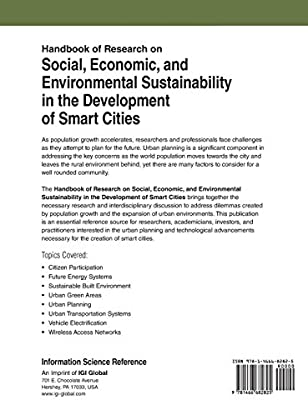 Handbook of Research on Social, Economic, and Environmental