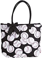 Quilted Tote Bag Designer Print Collection Large 16-inch