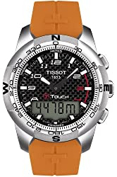 Tissot T-Touch II Black Dial Men's Watch #T047.420.47.207.01